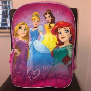 🆕 DISNEY Fearless Dreamer Girls Backpack Book Bag